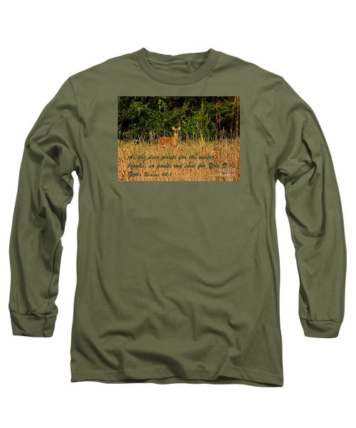 The Deer Long Sleeve T-Shirt