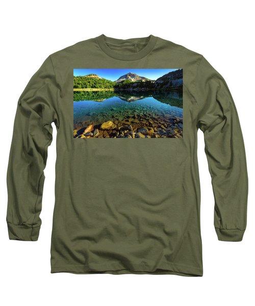 The Depths Of Lake Helen Long Sleeve T-Shirt