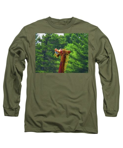 The Draken's Head Long Sleeve T-Shirt