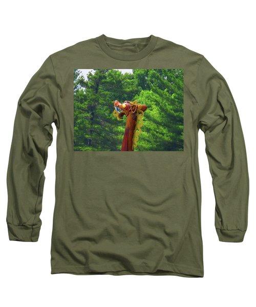 The Draken's Head Long Sleeve T-Shirt