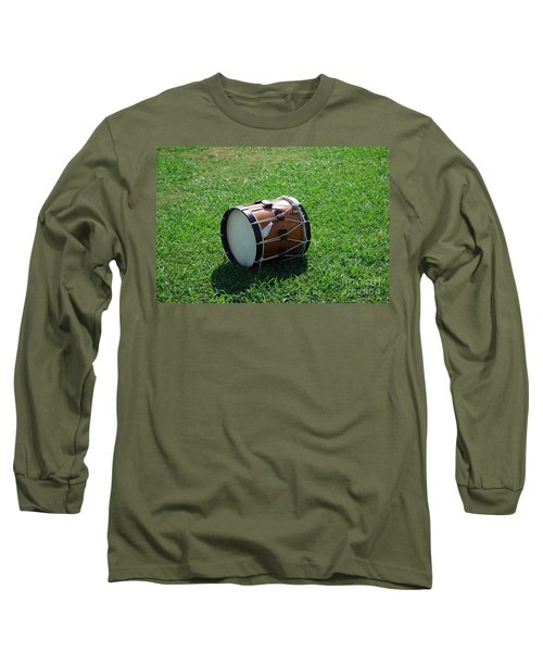 The Drum Long Sleeve T-Shirt by Eric Liller