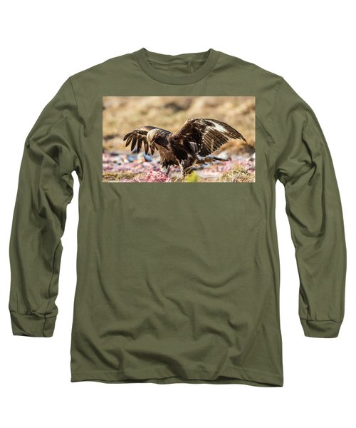The Eagle Have Come Down Long Sleeve T-Shirt by Torbjorn Swenelius