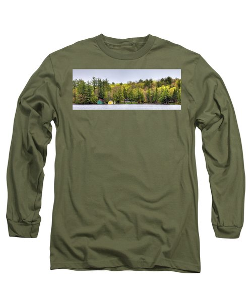 The Early Greens Of Spring Long Sleeve T-Shirt by David Patterson