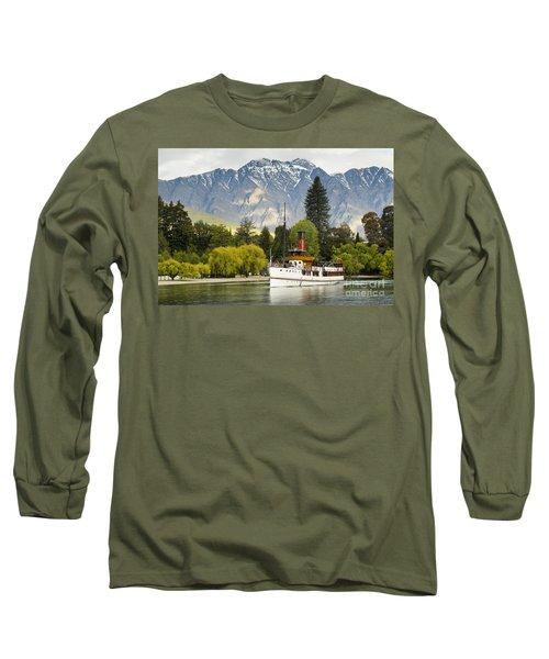 The Earnslaw Long Sleeve T-Shirt by Werner Padarin