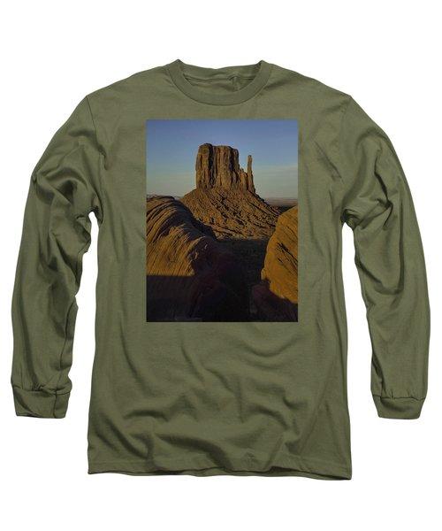 The Earth Says Hello Long Sleeve T-Shirt by Rob Wilson