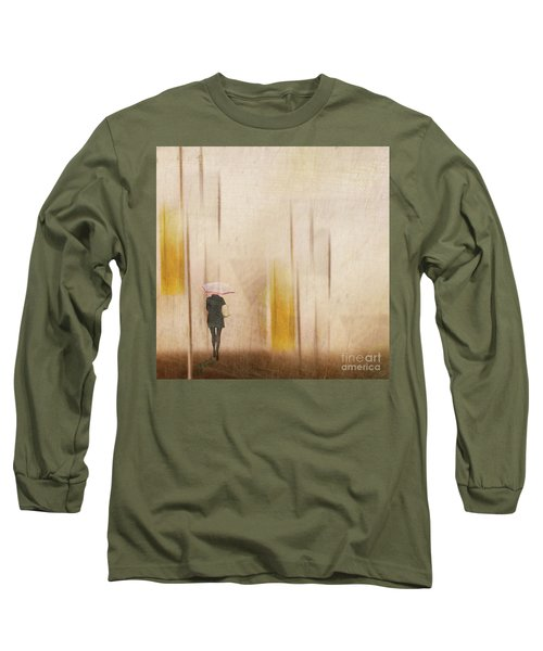Long Sleeve T-Shirt featuring the photograph The Edge Of Autumn by LemonArt Photography