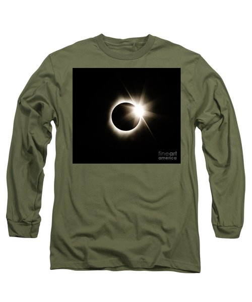 The Edge Of Totality Long Sleeve T-Shirt