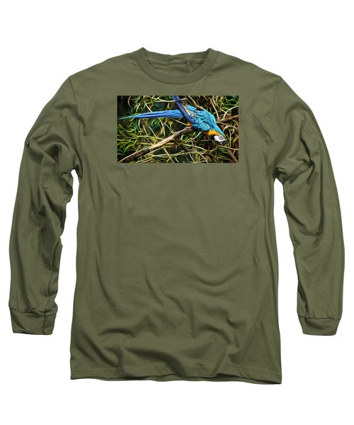 Long Sleeve T-Shirt featuring the photograph The Enchanted Forest by Cameron Wood