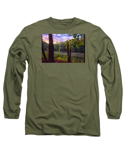The End Of The Day Long Sleeve T-Shirt by Tricia Marchlik