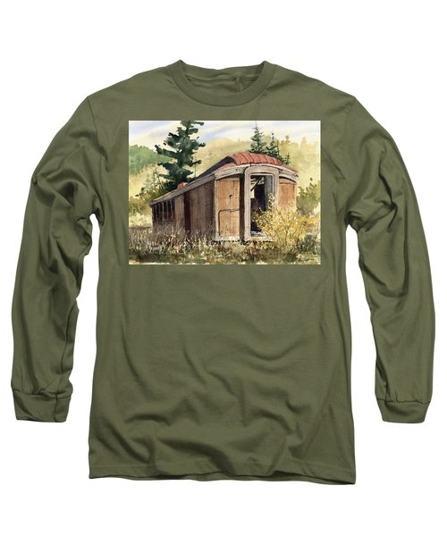 The End Of The Line Long Sleeve T-Shirt