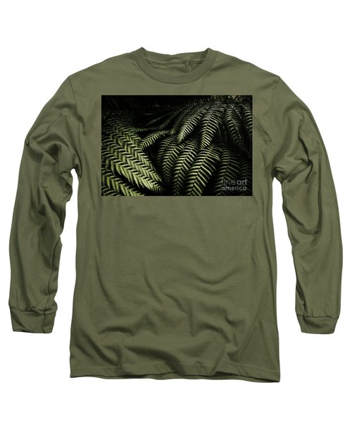 The Exotic Dark Jungle Long Sleeve T-Shirt