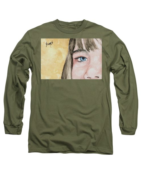 The Eyes Have It - Bryanna Long Sleeve T-Shirt by Sam Sidders