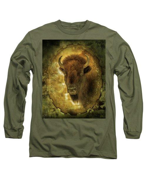 The Face Of Tatanka Long Sleeve T-Shirt