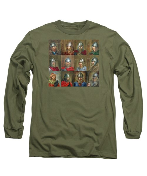 The Famous Vikings Long Sleeve T-Shirt by Arturas Slapsys