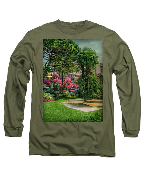 Long Sleeve T-Shirt featuring the photograph The Fancy Swiss South-west by Hanny Heim