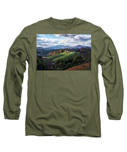 The Farm On The Hill Long Sleeve T-Shirt