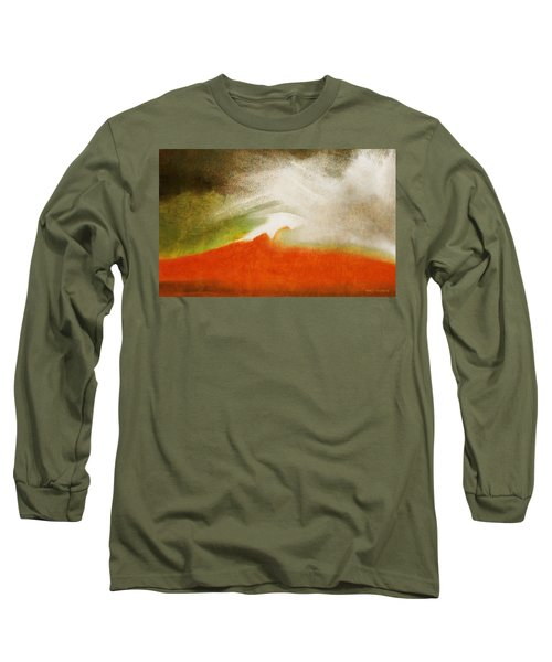 The Fire Mountain - Cotapaxi Long Sleeve T-Shirt