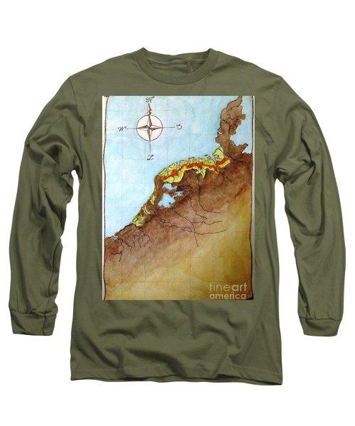 The First Frisians Long Sleeve T-Shirt by Annemeet Hasidi- van der Leij