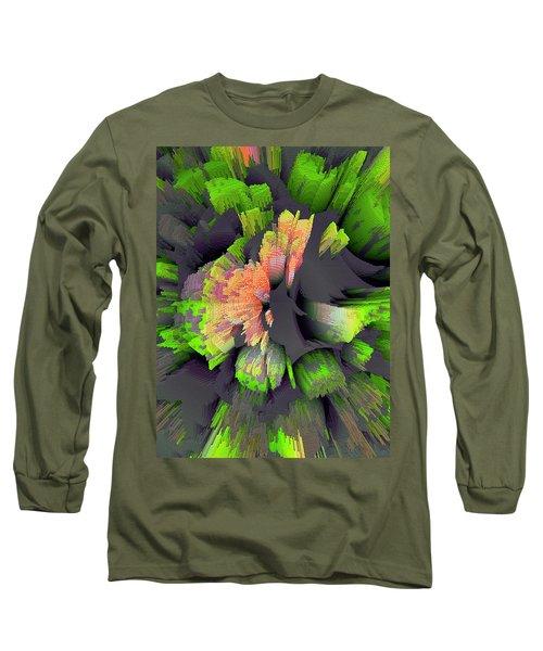 The Flower Factory 2 Long Sleeve T-Shirt by Moustafa Al Hatter