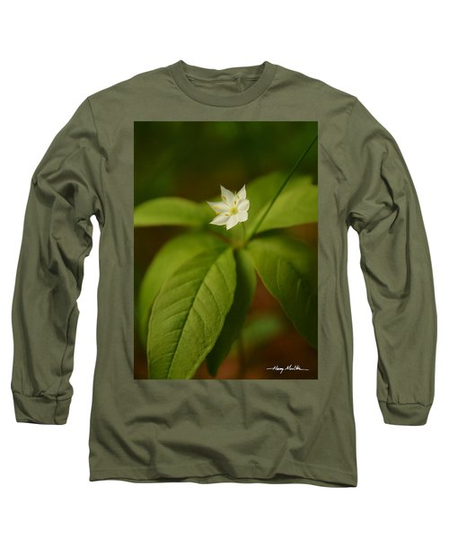 The Flower Of The Dark Woods Long Sleeve T-Shirt