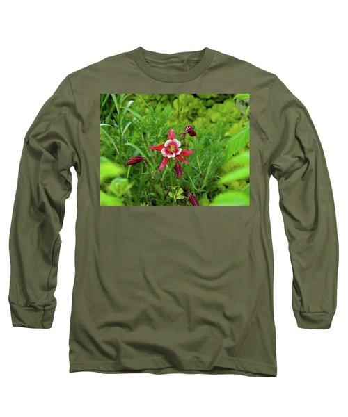 The Flowering Columbine Long Sleeve T-Shirt