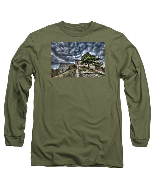 The Fortress The Tree The Clouds Long Sleeve T-Shirt