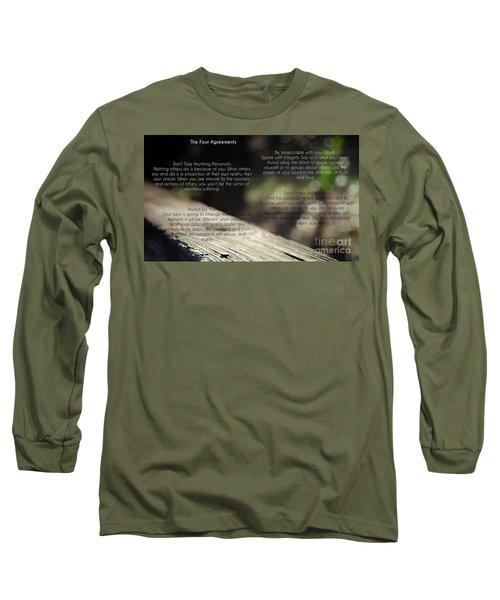 The Four Agreements 4 Long Sleeve T-Shirt