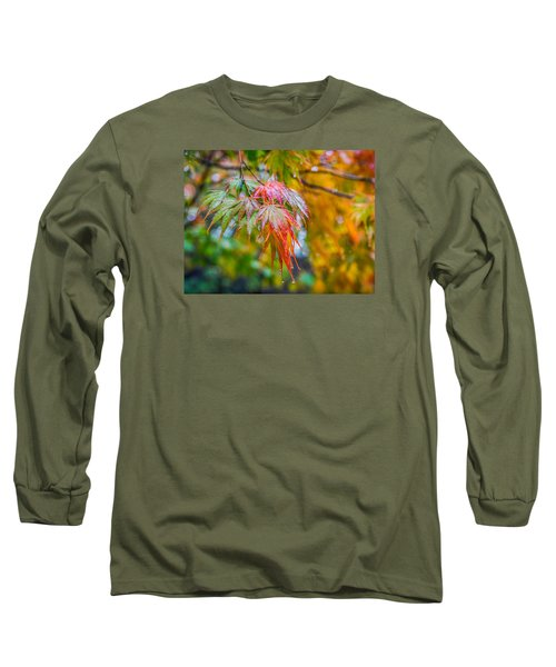 The Freshness Of Fall Long Sleeve T-Shirt by Ken Stanback