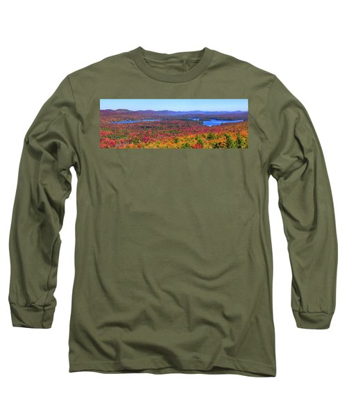 The Fulton Chain Of Lakes Long Sleeve T-Shirt
