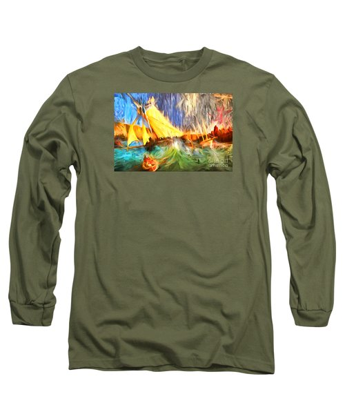 Long Sleeve T-Shirt featuring the photograph The Fury by Jack Torcello