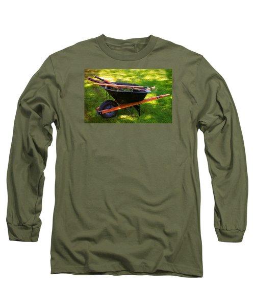The Gardener Long Sleeve T-Shirt by Bob Pardue