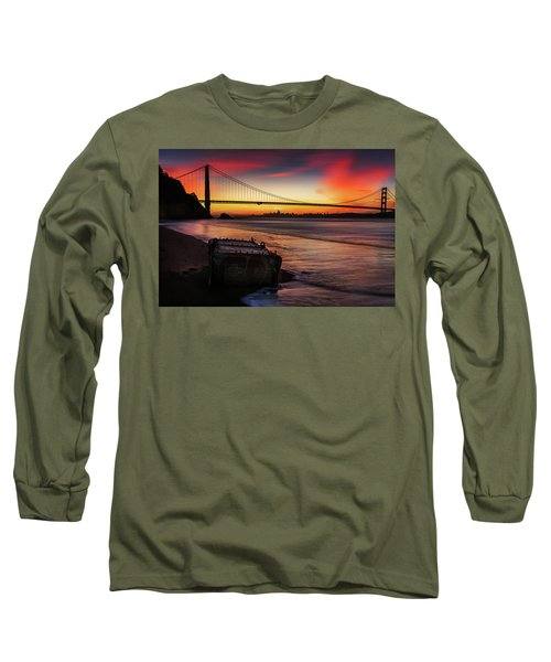 The Gate Of Gold  Long Sleeve T-Shirt