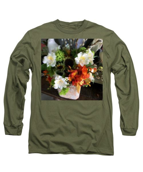 Long Sleeve T-Shirt featuring the photograph The Gift Of Giving by Peggy Stokes