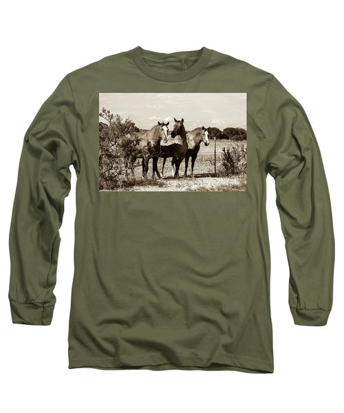 The Girlz  Sepia Long Sleeve T-Shirt