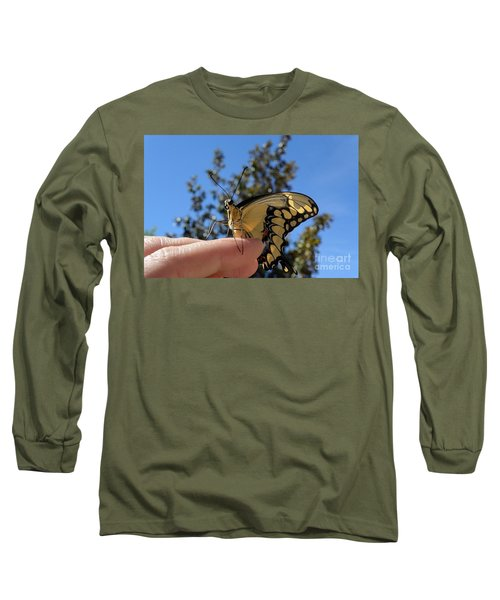 The Glorious Swallowtail  Long Sleeve T-Shirt