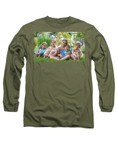 The Grand Kids In The Garden Long Sleeve T-Shirt