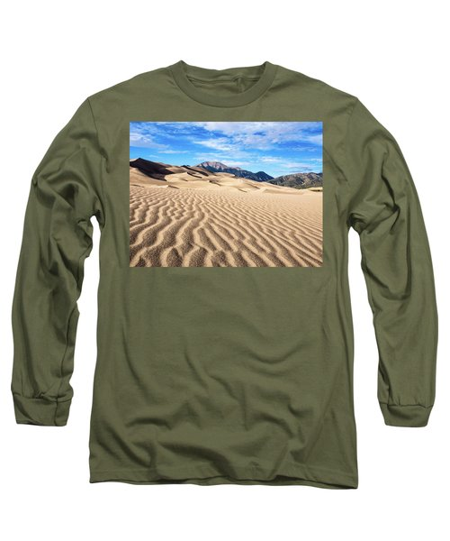 The Great Sand Dunes Of Colorado Long Sleeve T-Shirt