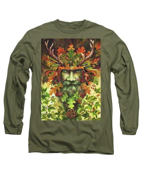 The Green Man Long Sleeve T-Shirt