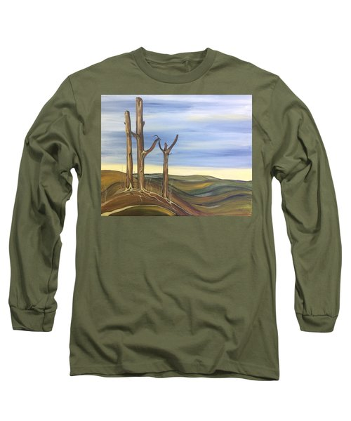 The Guardians Long Sleeve T-Shirt by Pat Purdy