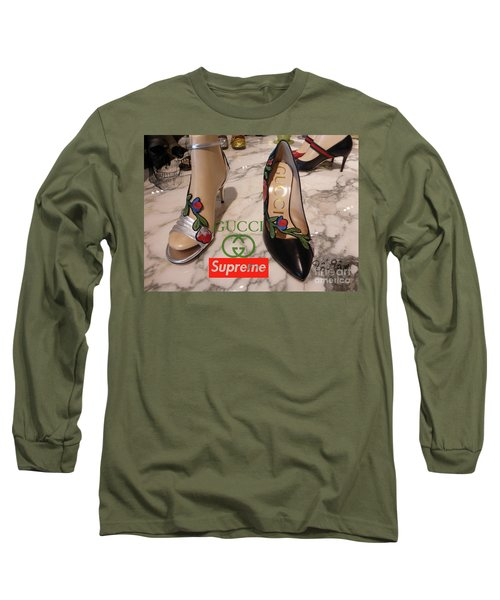 The Gucci Supreme Shoes 5 Long Sleeve T-Shirt