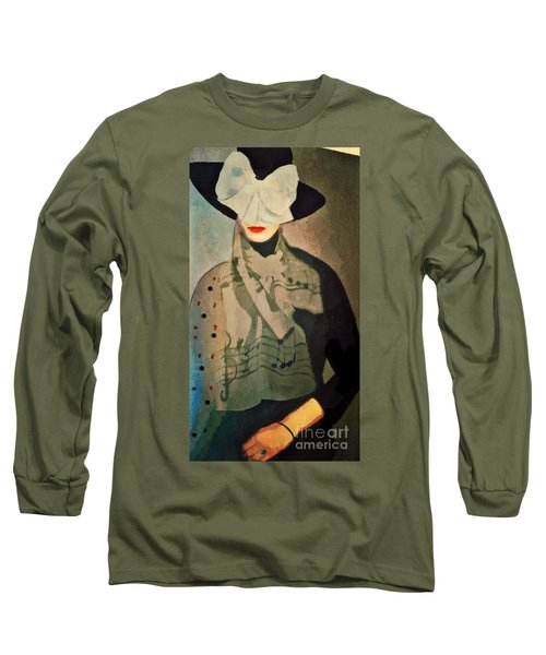 The Hat Long Sleeve T-Shirt by Alexis Rotella