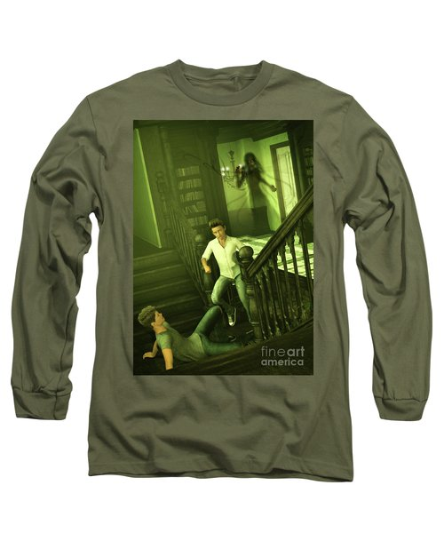 The Haunted Manor Long Sleeve T-Shirt