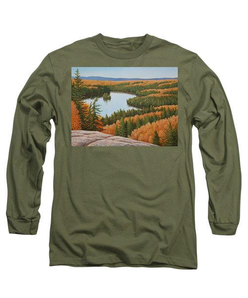 The Height Of Autumn Long Sleeve T-Shirt