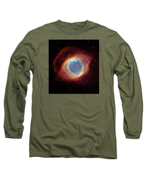 The Helix Nebula  Long Sleeve T-Shirt