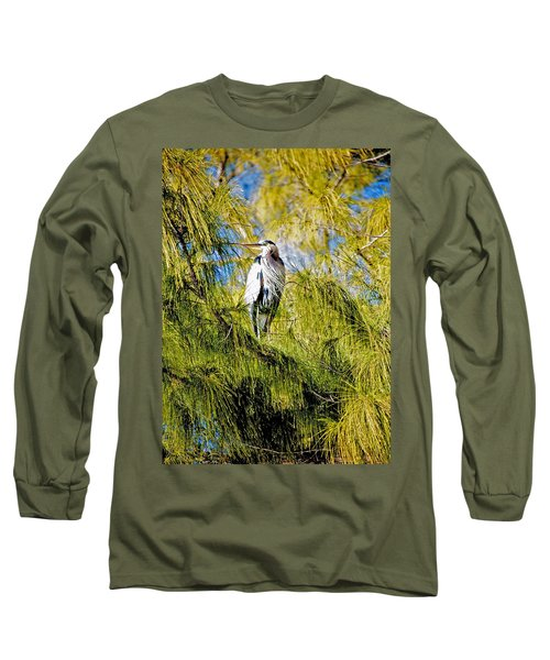 The Heron's Whiskers Long Sleeve T-Shirt