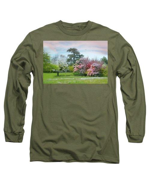 Long Sleeve T-Shirt featuring the photograph The Hidden Garden by Diana Angstadt