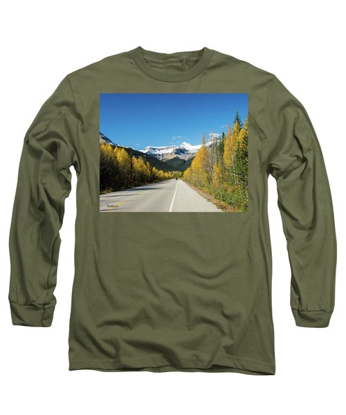 The Icefields Parkway Long Sleeve T-Shirt