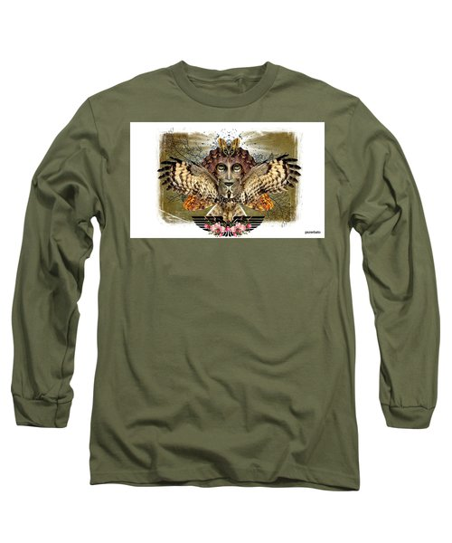 The Illusion Was Exposed Long Sleeve T-Shirt by Paulo Zerbato