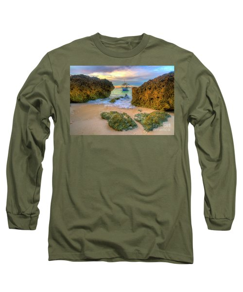 Long Sleeve T-Shirt featuring the photograph The Inbetweener by Yhun Suarez