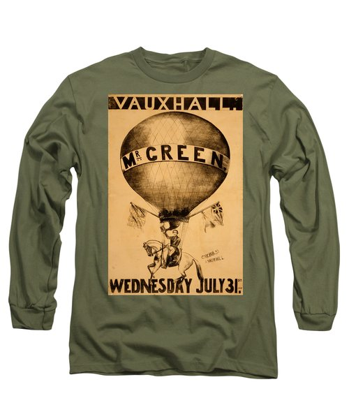 The Incredible Mr. Green Long Sleeve T-Shirt